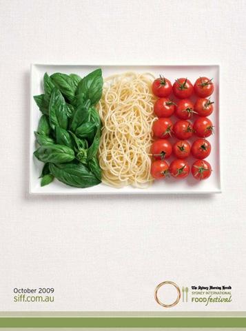 edible flag italia